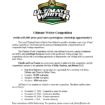 Baylor Law School Writing Competition