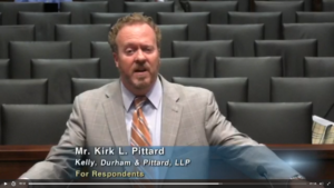 Kirk Pittard is in the Texas Supreme Court-again!