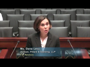 Dana Levy presents argument in the Texas Supreme Court in important medical malpractice, discovery case!